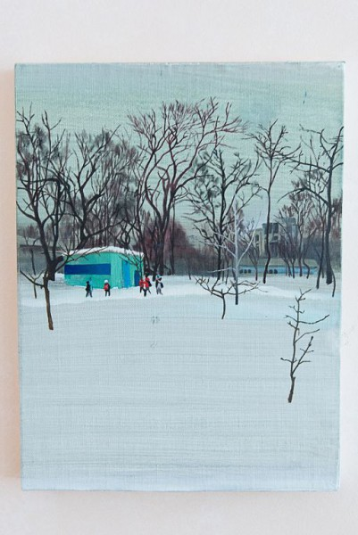 Кирилл Гаршин «Серия «Танаис», дерево, акрил, 40х30 см., 2017