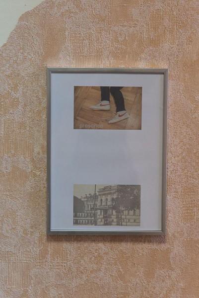 Алёна Селецкая «presence», инсталляция, 2018