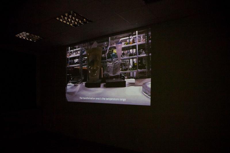 Малин Петтерссон Эберг «Сквозь стекло», видео, 15′, 2015